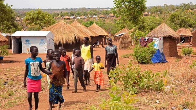 Бир миллиондан ортиқ бола Жанубий Судандан чиқиб кетишга мажбур бўлган, деб ҳисоблайди БМТ.