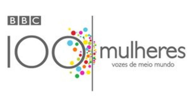 """Logo do """"100 Mulheres"""""""