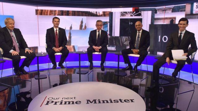 Tory leadership race: Your views on leadership candidates' debate