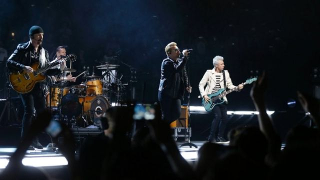 U2 pay tribute to Paris in new song