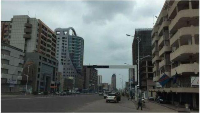 Agahengwe kabonetse mu mabarabara y'i Kinshasa