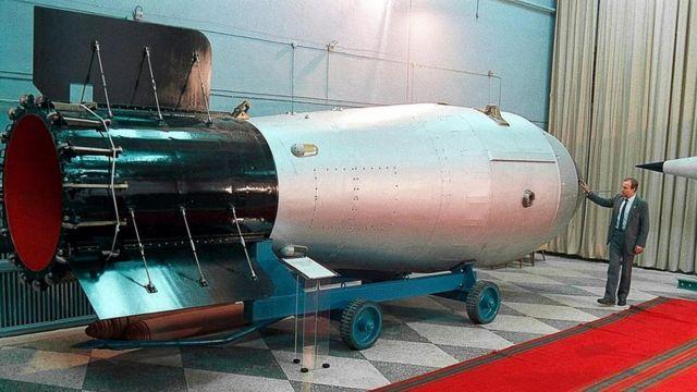 沙皇炸弹的实体模型