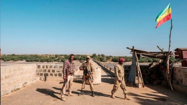 تحركت قوات وميليشيات الأمهرة إلى مركز حميرة الزراعي في تيغراي والمتاخم لإريتريا