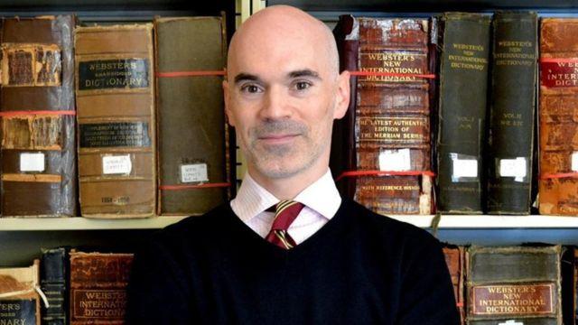 Peter Sokolowski, editor en Merriam-Webster