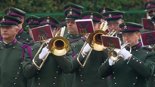 Brass band at Waterloo