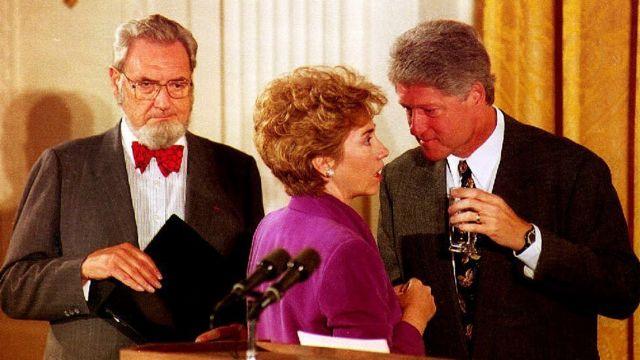Hillary y Bill Clinton.