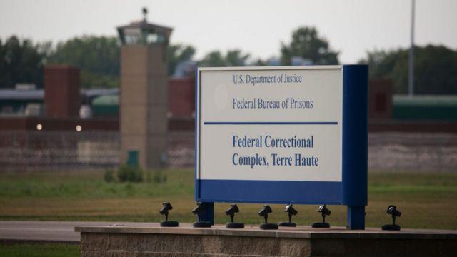 Complejo Correccional Federal Terre Haute en Indiana.