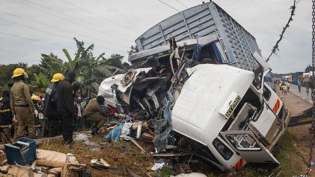 22 morts dans un accident de la route en Ouganda