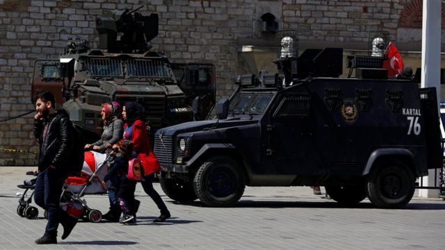 Военные на площади Таксим