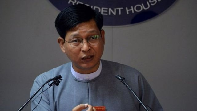အိုင်စီစီအနေနဲ့ မြန်မာနိုင်ငံအပေါ်စုံစမ်းမှု ပြုလုပ်ခြင်းဟာနိုင်ငံတကာ ဥပဒေနဲ့မညီဘူးလို့ တုံ့ပြန်