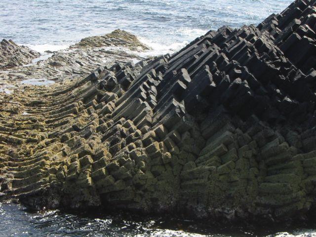 Базальтовые колонны на острове Стаффа