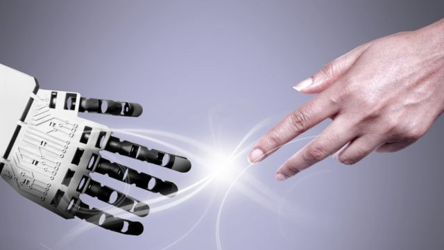 """Y dada su inteligencia, ¿sería capaz un robot de """"desactivar"""" el botón de emergencia?"""