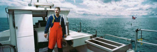 Ribar na brodu u vodama Severne Irske