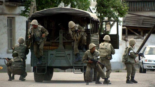 Спецназ в Андижане