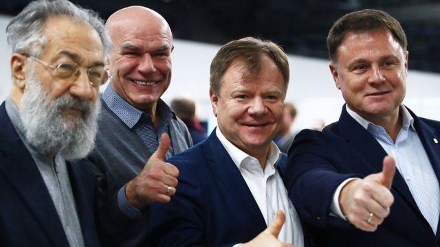 Чилингаров, Мазаев, Бутман и Груздев
