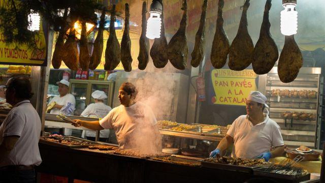 Las Fiestas de la Paloma' in Madrid's La Latina District