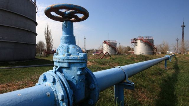 газопровод в Крыму
