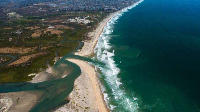 Vista aérea de Baja California (Foto: Costa Salvaje)