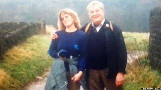 ब्रायन बिकट (दाएं) और उनकी बेटी किर्स्टन.