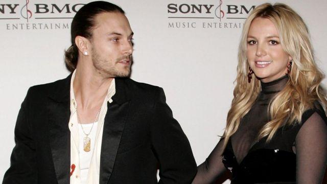 Брітні Спірз з колишнім чоловіком Кевіном Федерлайном у лютому 2006 року в Голлівуді