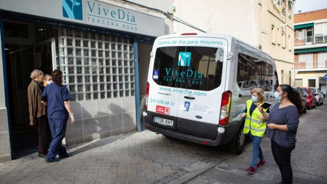 Residencia de ancianos Vive Día, en Madrid.