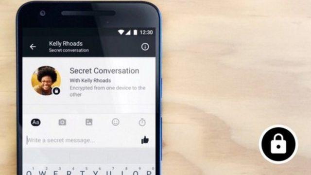 Mensajes secretos de Facebook