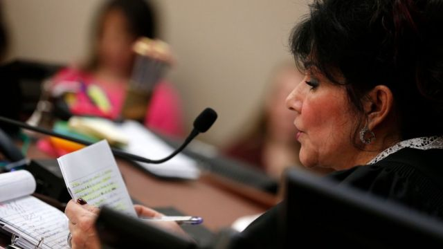La juez Rosemarie Aquilina