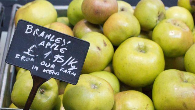 """Яблоки сорта """"брэмли"""""""
