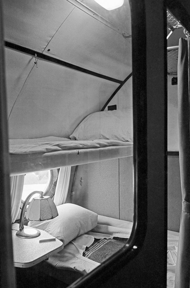 Спальные места в Ту-114