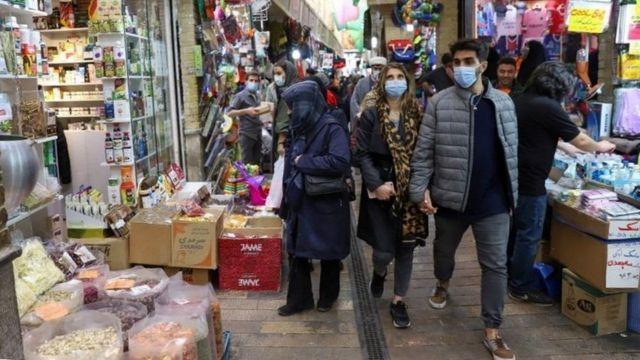 İran sokakları