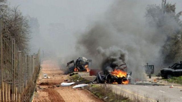 در هشتم بهمن ۹۳ ، دو نظامی اسرائیلی در مزارع شبعا در جنوب لبنان کشته شدند