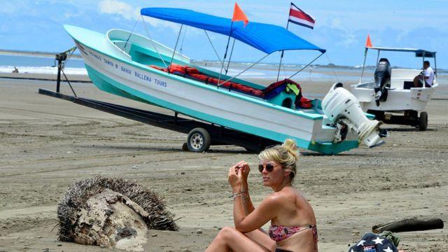 Turista en Costa Rica