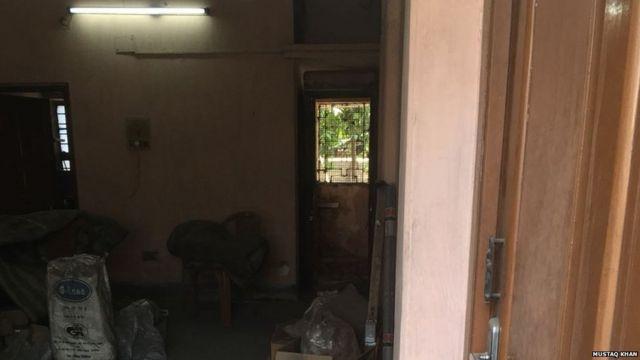 कोलकाता में शुभब्रत मजूमदार का घर