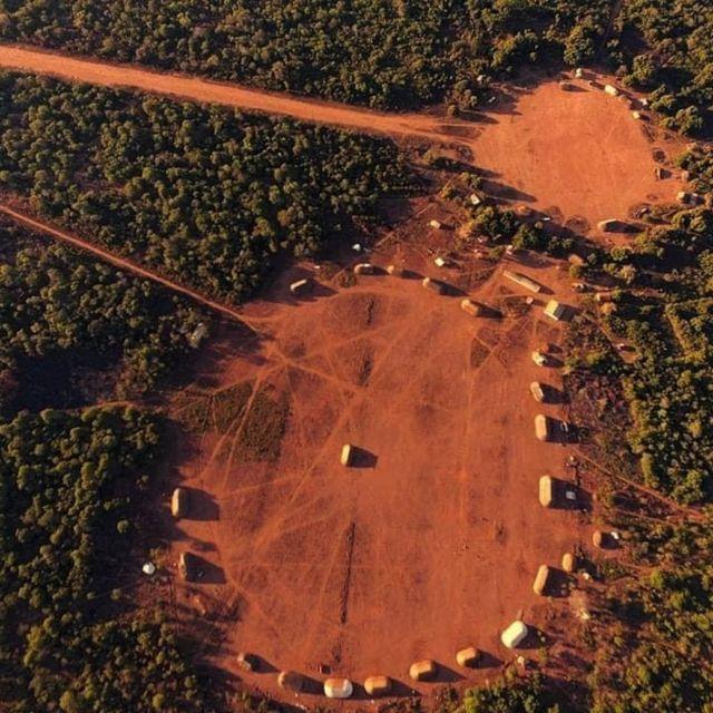 குய்கொரோ மக்கள் வாழும் கிராமம்