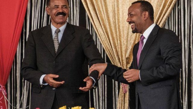 آفي أحمد وإشعياء أفورقي