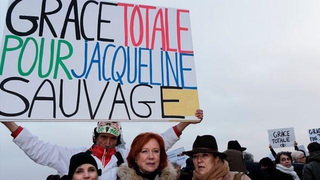 En octobre 2014, Jacqueline Sauvage avait été condamnée à dix ans de réclusion criminelle pour le meurtre de son mari violent.