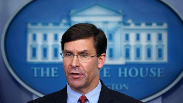 Bộ trưởng Quốc phòng Mỹ Mark Esper