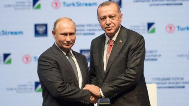 Putin ve Erdoğan