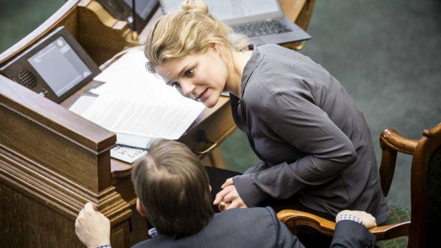 「赤と緑の連合」のヨハンネ・シュミット・ニールセン議員