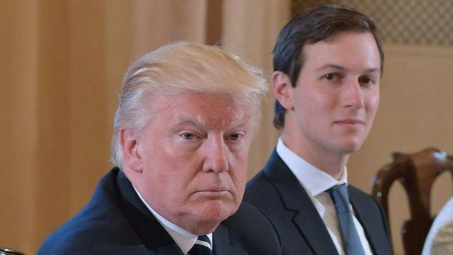 Donald Trump y Jared Kushner