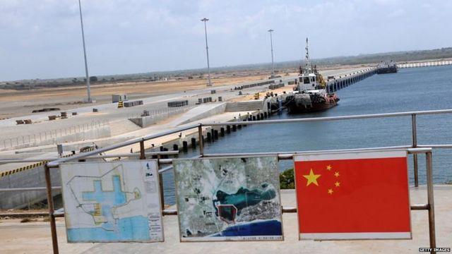 श्रीलंका का हम्बनटोटा बंदरगाह