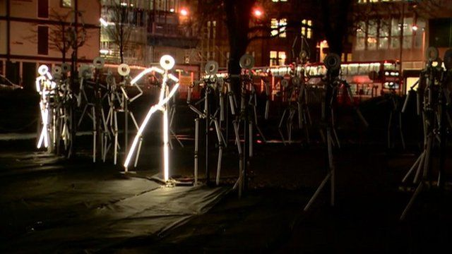 Illuminated sculptures