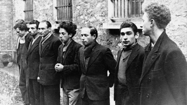 Manučijanova grupa, februar 1944.