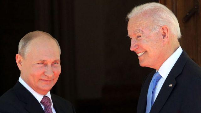Путин, Байден