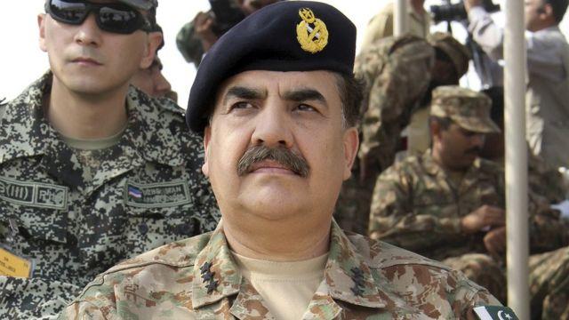 पाकिस्तानी सेना के प्रमुख जनरल राहिल शरीफ़.