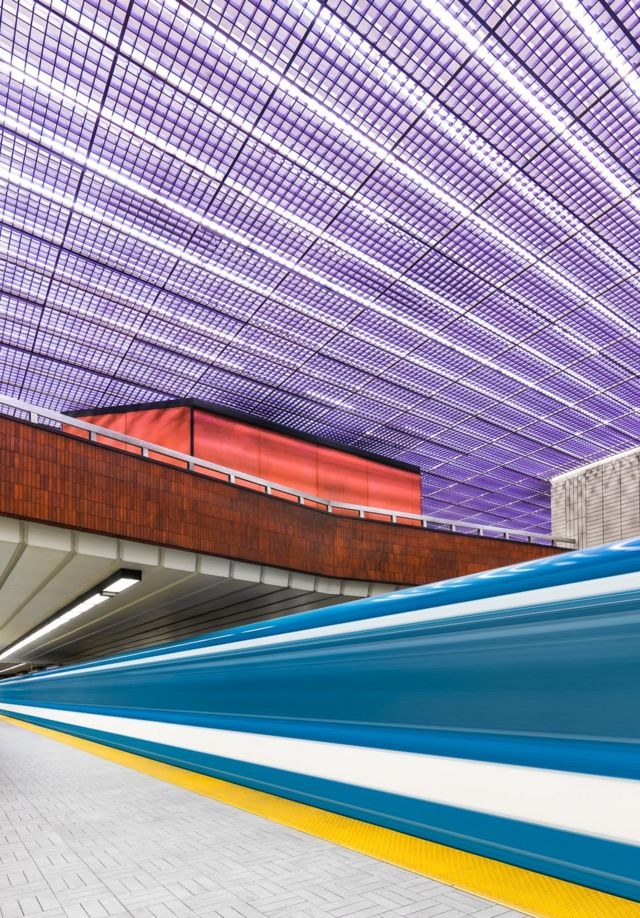 The beauty of the Montreal Metro