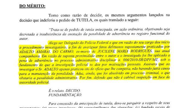 Sentença judicial relativa a Marcelo Augusto Xavier da Silva