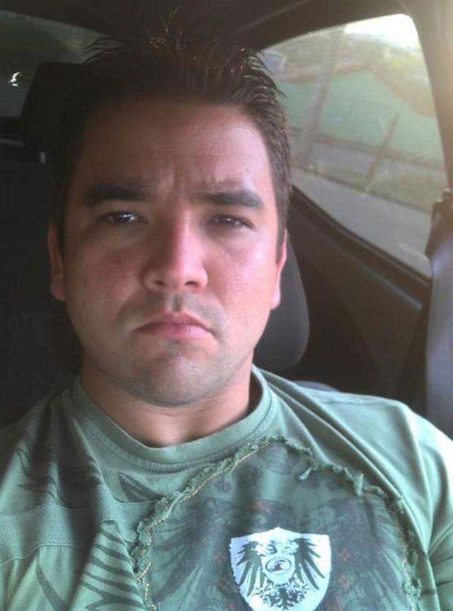 André Luiz Santos, de 34 anos é operador de máquina