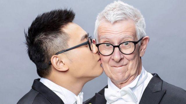 跨越年龄丶国籍丶性别的同志婚礼。
