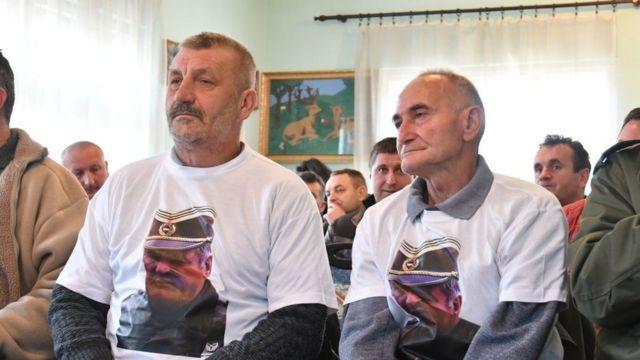 Сторонники Младича